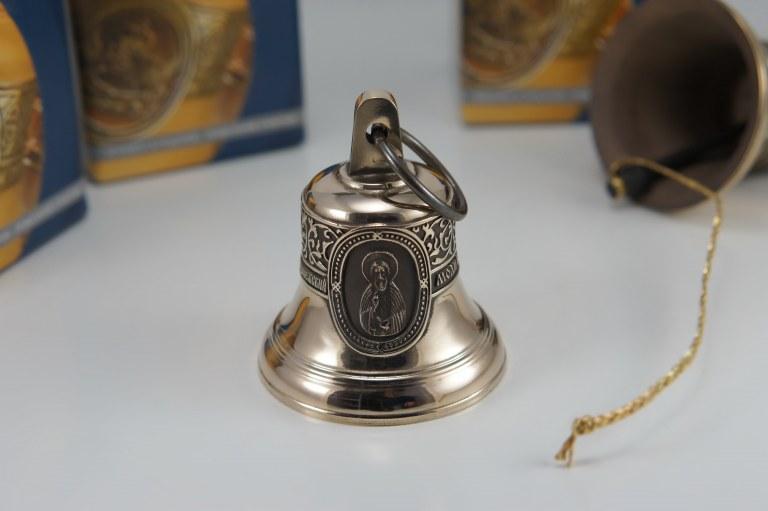 Святой преподобный Сергий Радонежский, Икона, Колокол, Сувенир, Подарок верующему, Подарок православному
