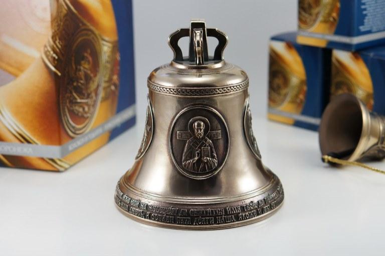 Четыре лика святых, Икона, Колокол, Сувенир, Подарок верующему, Подарок православному