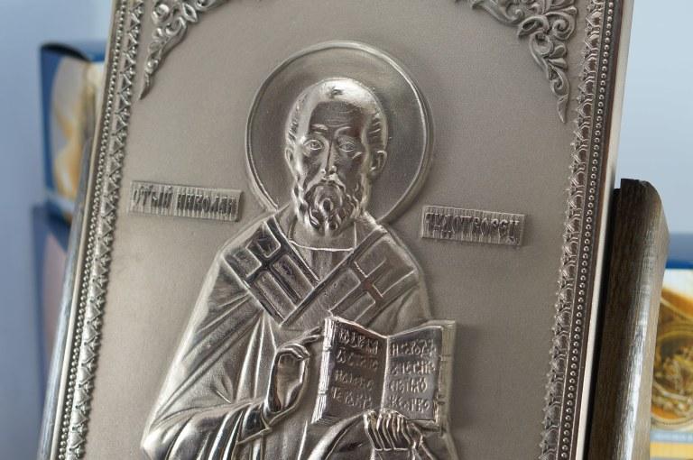 """Икона """"Святой Николай Чудотворец"""", Сувенир, Подарок верующему, Подарок православному"""