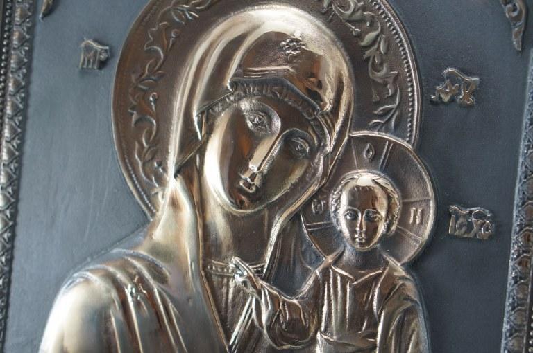 Казанская икона Божией материИкона, Колокол, Сувенир, Подарок верующему, Подарок православному