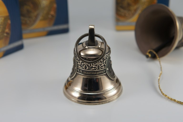 Святой благоверный великий князь Димитрий Донской, Икона, Колокол, Сувенир, Подарок верующему, Подарок православному