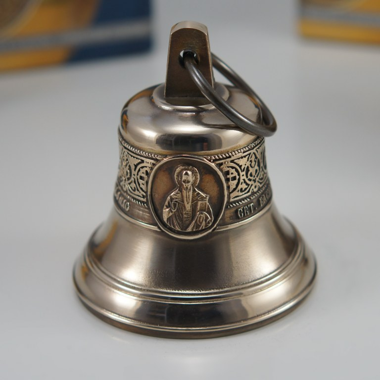 Святитель Василий Великий, Икона, Колокол, Сувенир, Подарок верующему, Подарок православному