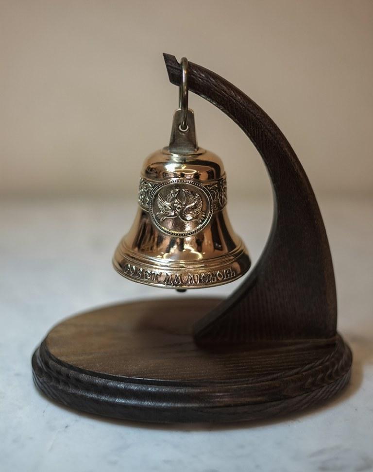 сувенирный колокольчик