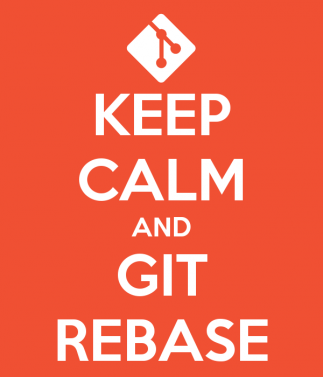 Keep calm and git rebase