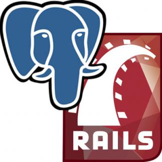 Ruby on Rails with PostgreSQL